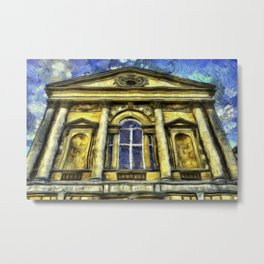 Roman Bath Van Gogh Metal Print