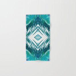 Surfer Waves Ocean Pattern Hand & Bath Towel