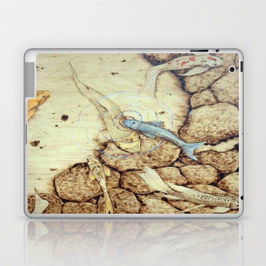 Ode to the Blue Koi Laptop & iPad Skin