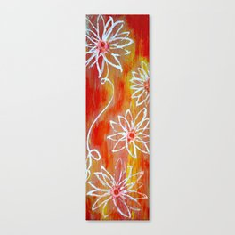 Luminescent Garden Canvas Print