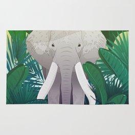 Elephant Jungle Sanctuary Rug
