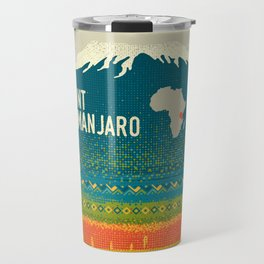 Mount Kilimanjaro Travel Mug