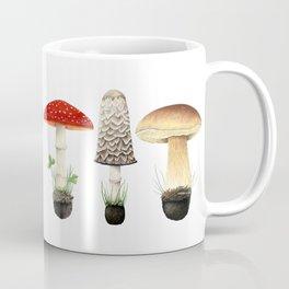 Three Mushrooms Coffee Mug