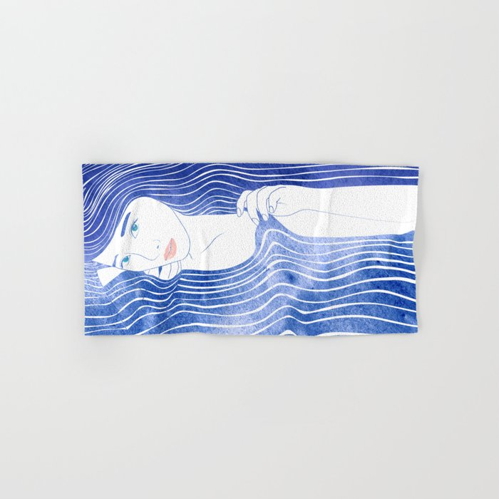 Water Nymph LXVI Hand & Bath Towel