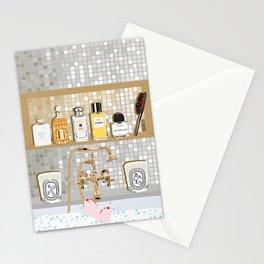 My Dream Bathtub Shelf Stationery Cards