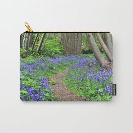 Path Through Bluebells Carry-All Pouch