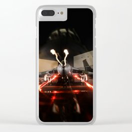 vulcan lights Clear iPhone Case