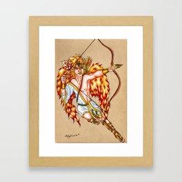 Eros, God of Love Framed Art Print