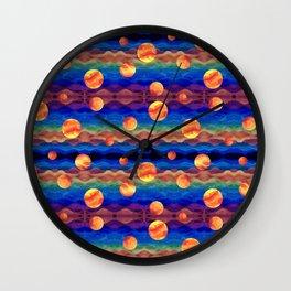 Planet Plasma Wall Clock