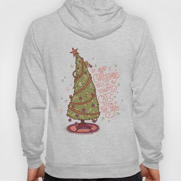 Cat Christmas Graphic Hoody
