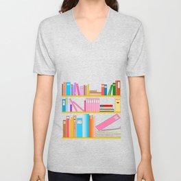 Favorite books Unisex V-Neck