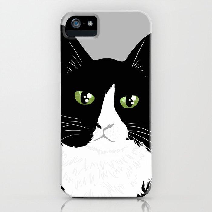 Henri the Existential Cat iPhone Case