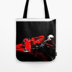 Red Robot Recharge Tote Bag