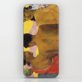 Three Tahitians by Paul Gauguin iPhone Skin