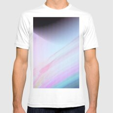 The Planet MEDIUM White Mens Fitted Tee