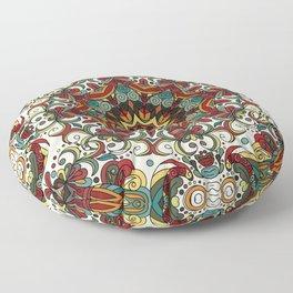 Boho Mandela Pattern 29 Floor Pillow