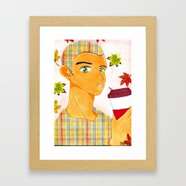 Coffee Kei Framed Art Print