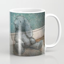 A Child's Bunny from Barely There Coffee Mug
