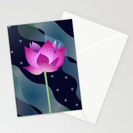 Star Lotus Stationery Cards