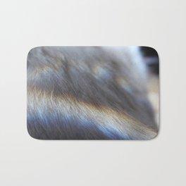 Rainbow Fur Bath Mat