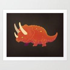 Triceratops! Art Print
