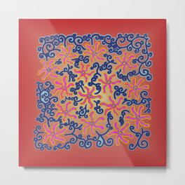 bungong jeumpa series: red Metal Print