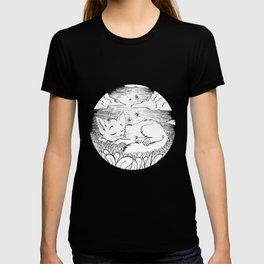 sleepin kitteh T-shirt