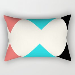 Colorful Arrows Rectangular Pillow