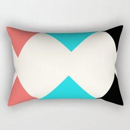 Colorful Arrows Rectangular Pillow