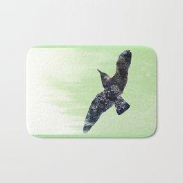 Wet bird Bath Mat