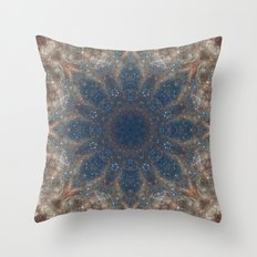 Space Mandala no22 Throw Pillow