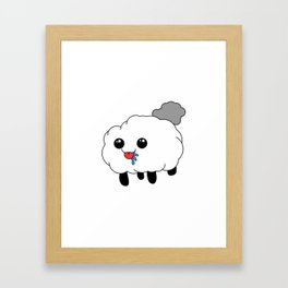 Sheep the Bleep Framed Art Print