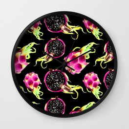 Pitaya or Dragonfruit Wall Clock