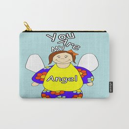 You Are My Angel Carry-All Pouch