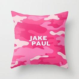 Bape Pink Camo Throw Pillow