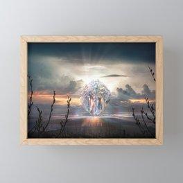 Aura Framed Mini Art Print