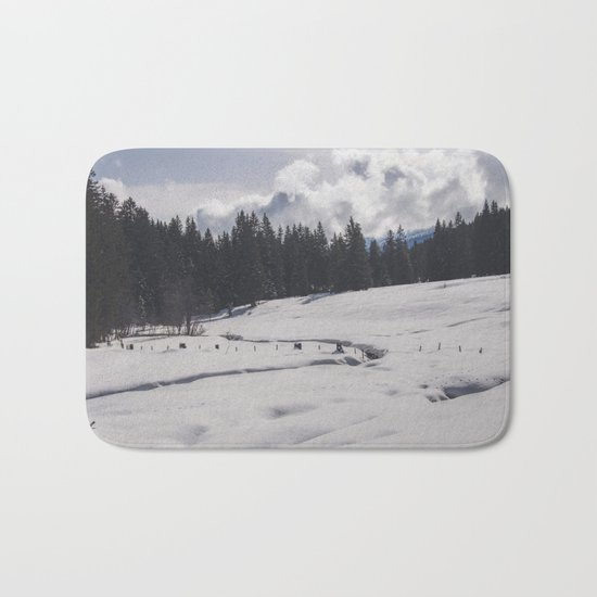 Winter Wonderland II Bath Mat