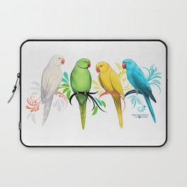 Indian Ringneck Parrots Laptop Sleeve