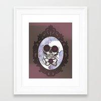 lucas david Framed Art Prints featuring Lucas by Gaab D'Amato