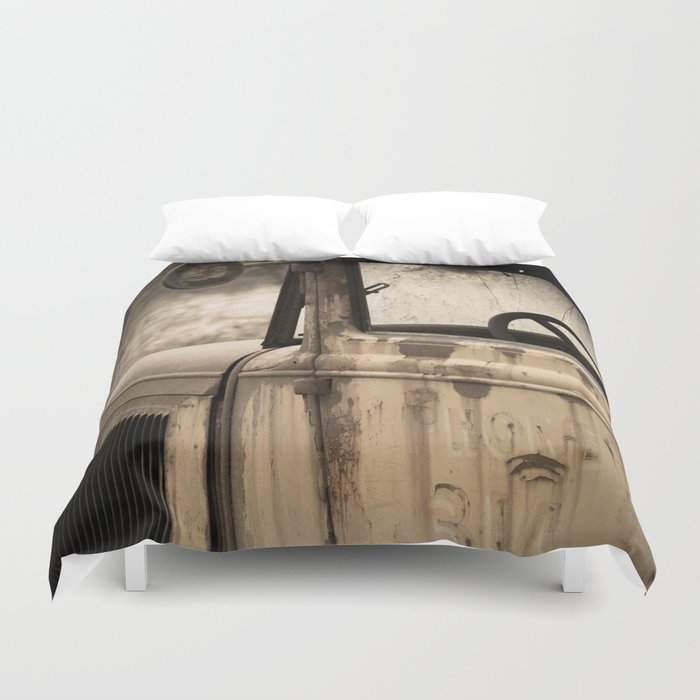 Days Gone By Duvet Cover