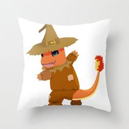 Scarecrow #04 Throw Pillow