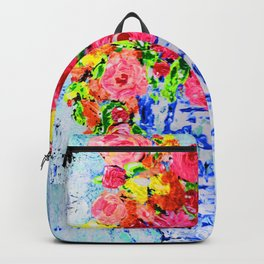Summer Florals Ginger Jar Backpack