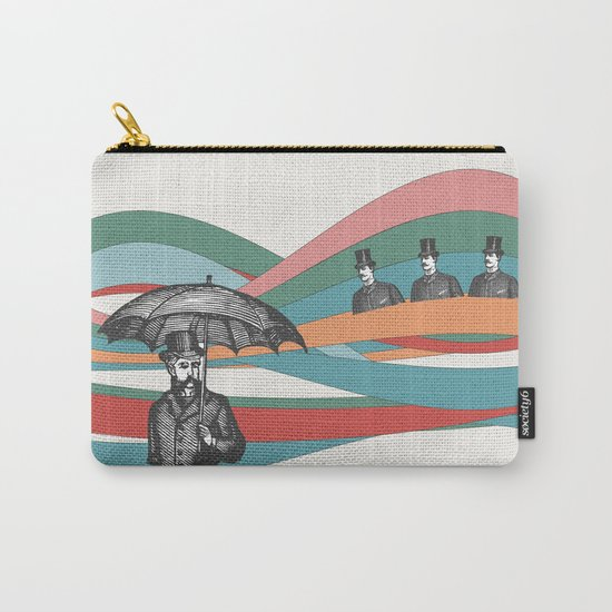 Riding the Waves Carry-All Pouch