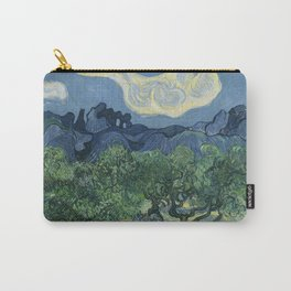 Vincent van Gogh - Olive Trees in a Mountainous Landscape Carry-All Pouch