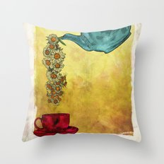 Camomile Throw Pillow