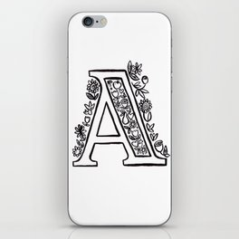 A is for iPhone Skin