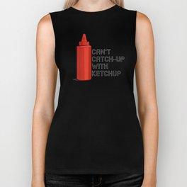 Ketchup Pride - Condiment Race Catsup Biker Tank