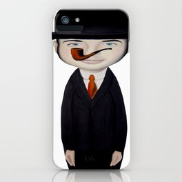 omaggio a Magritte iPhone Case