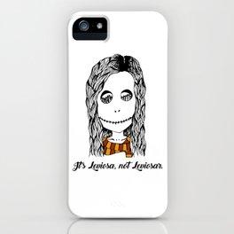 Hermione Granger Skull Leviosa iPhone Case