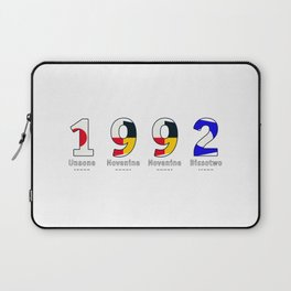 1992 - NAVY - My Year of Birth Laptop Sleeve